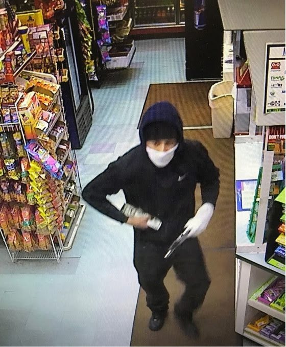 Shawnee Country Store Robbery Suspect