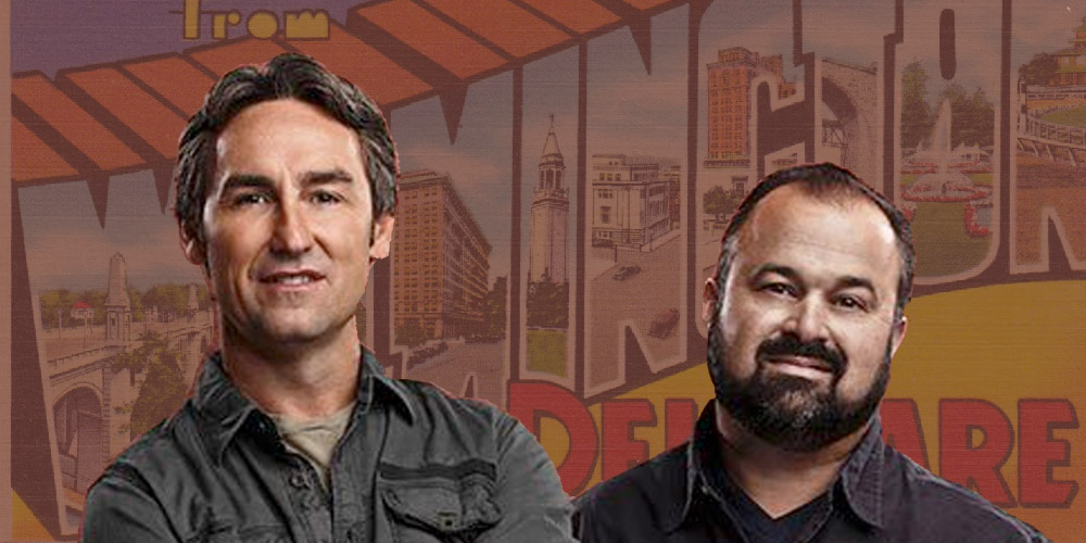 american pickers tv show is coming to delaware first state update. Black Bedroom Furniture Sets. Home Design Ideas