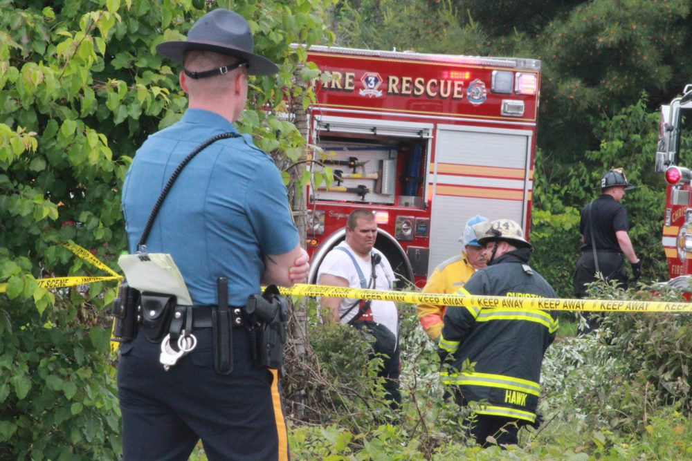 Pilot killed in helicopter crash at Delaware industrial park