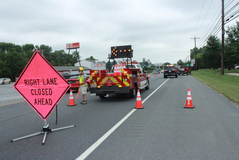 Multiple Accidents On Friday Keep Police Firefighters