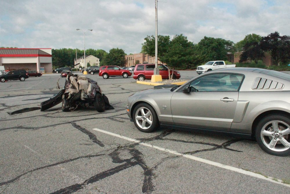 Car Ripped In Half During Morning Accident In Newark 4 In