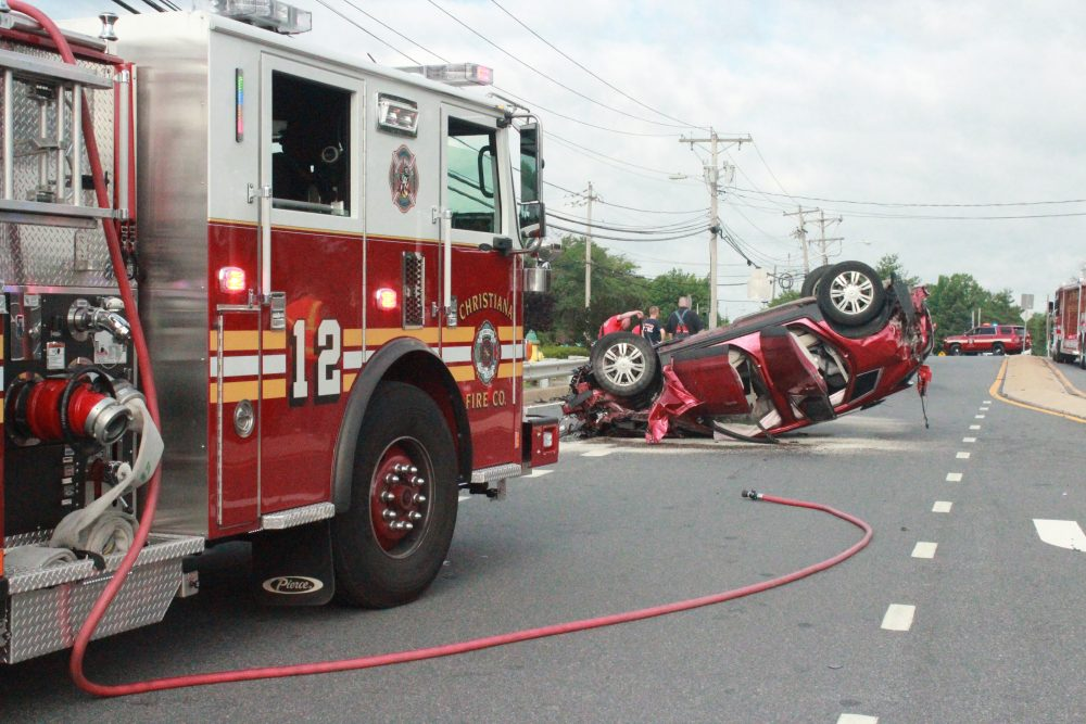 Hyundai Of Newport >> Car Ripped In Half During Morning Accident In Newark, 4 In ...