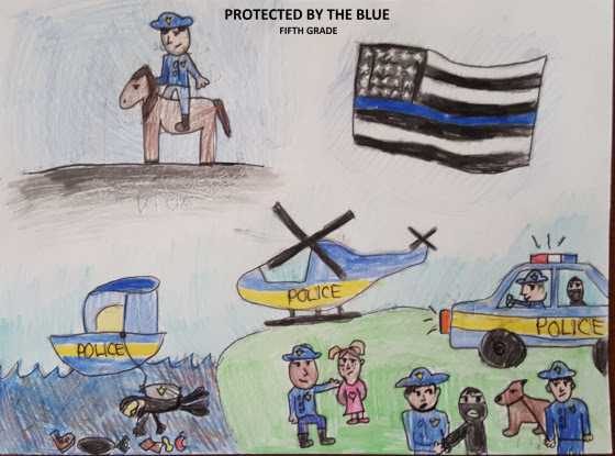 Delaware State Police Art Contest Winners Announced – First
