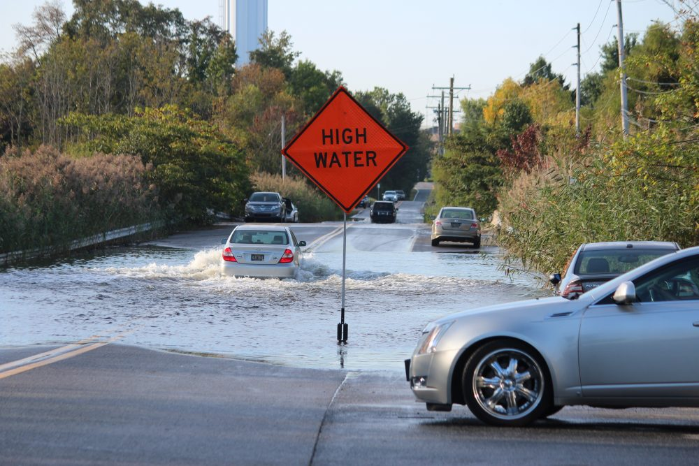 High Water Strands Several Drivers In New Castle This