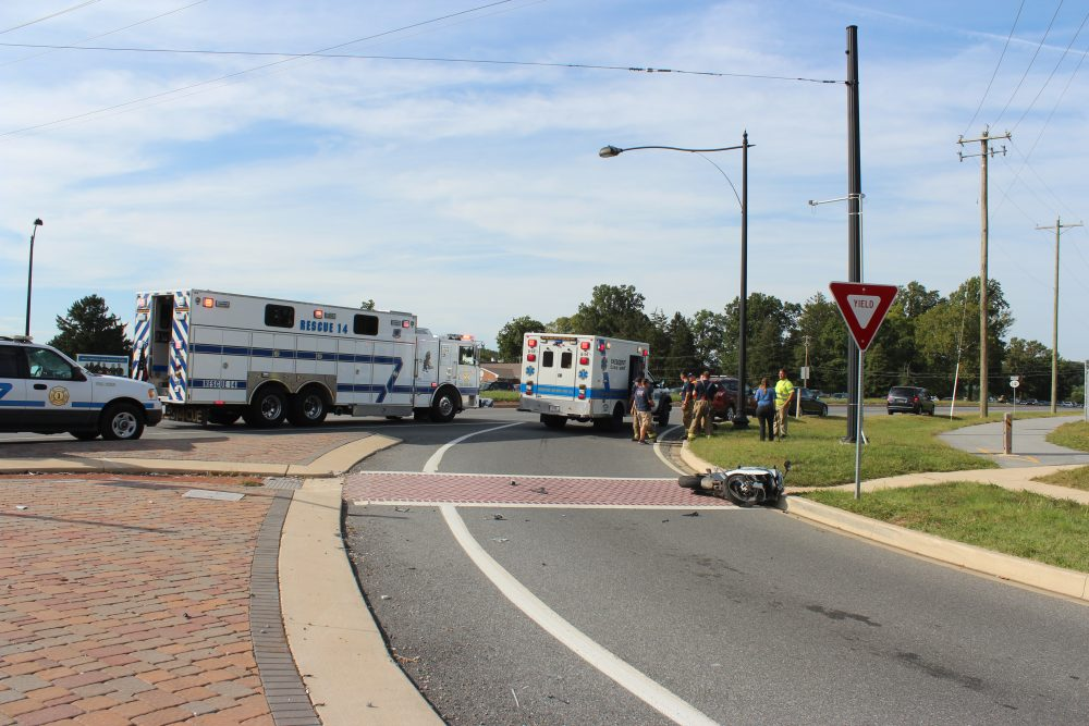 Georgetown Road Route  Car Accident