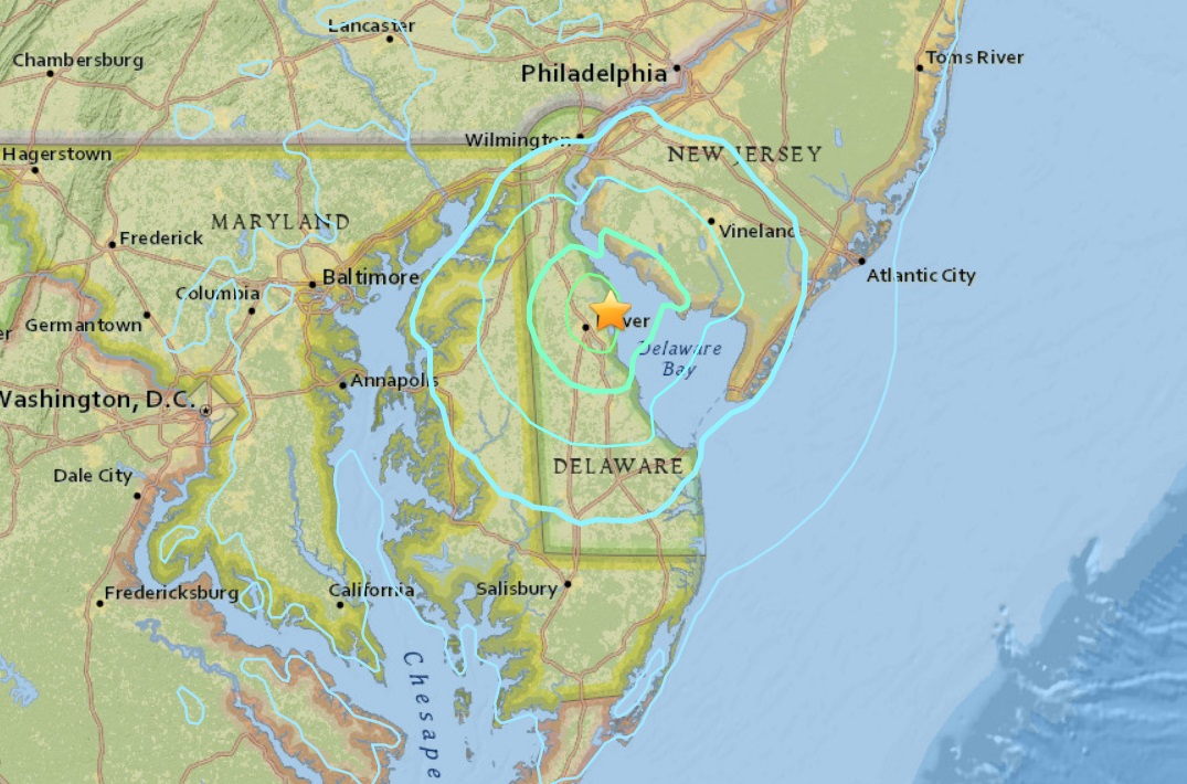 Philly rocked by 4.4 magnitude natural disaster in Delaware