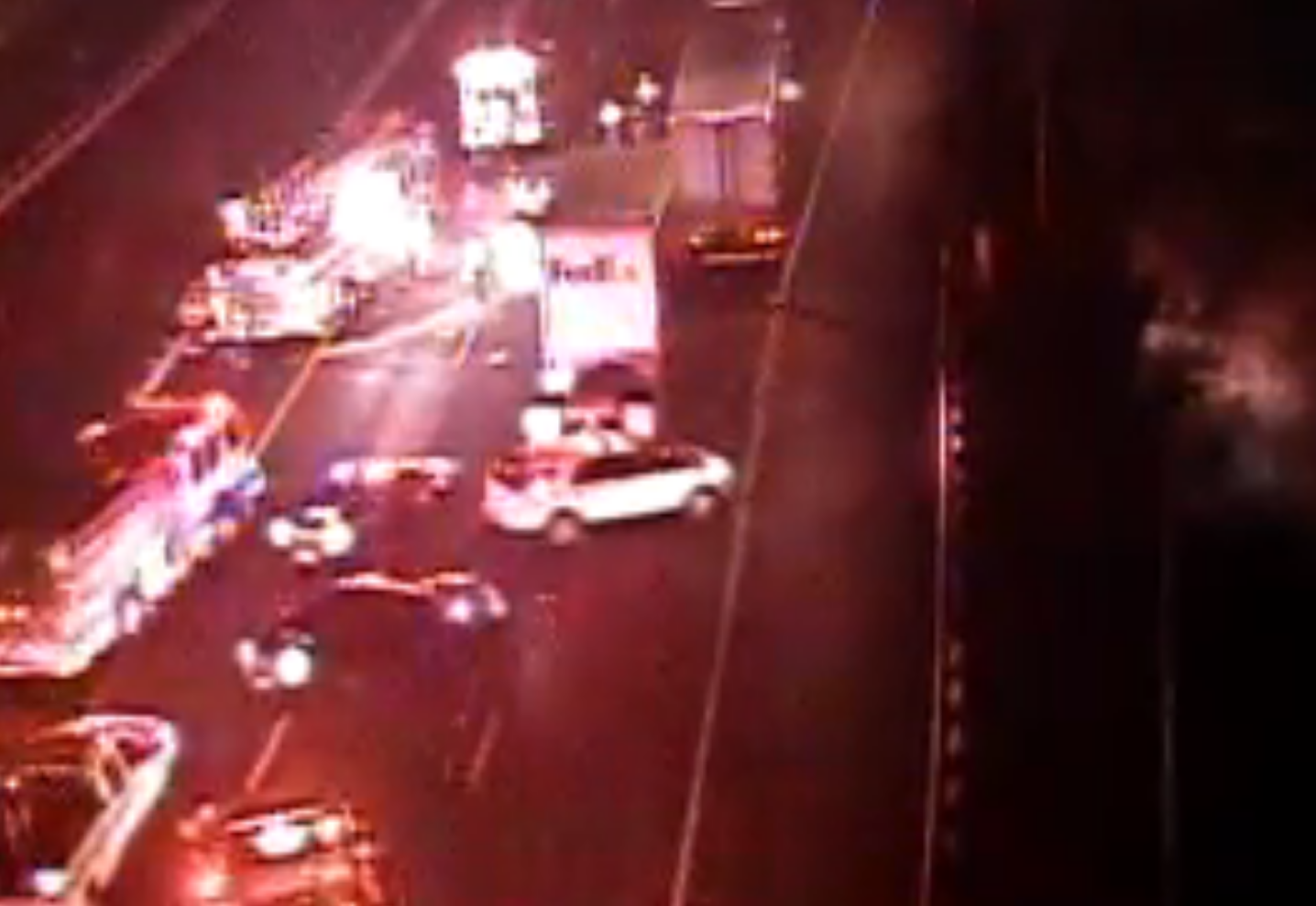 Happening Now: I-95 Shutdown In Maryland Due To Major Accident