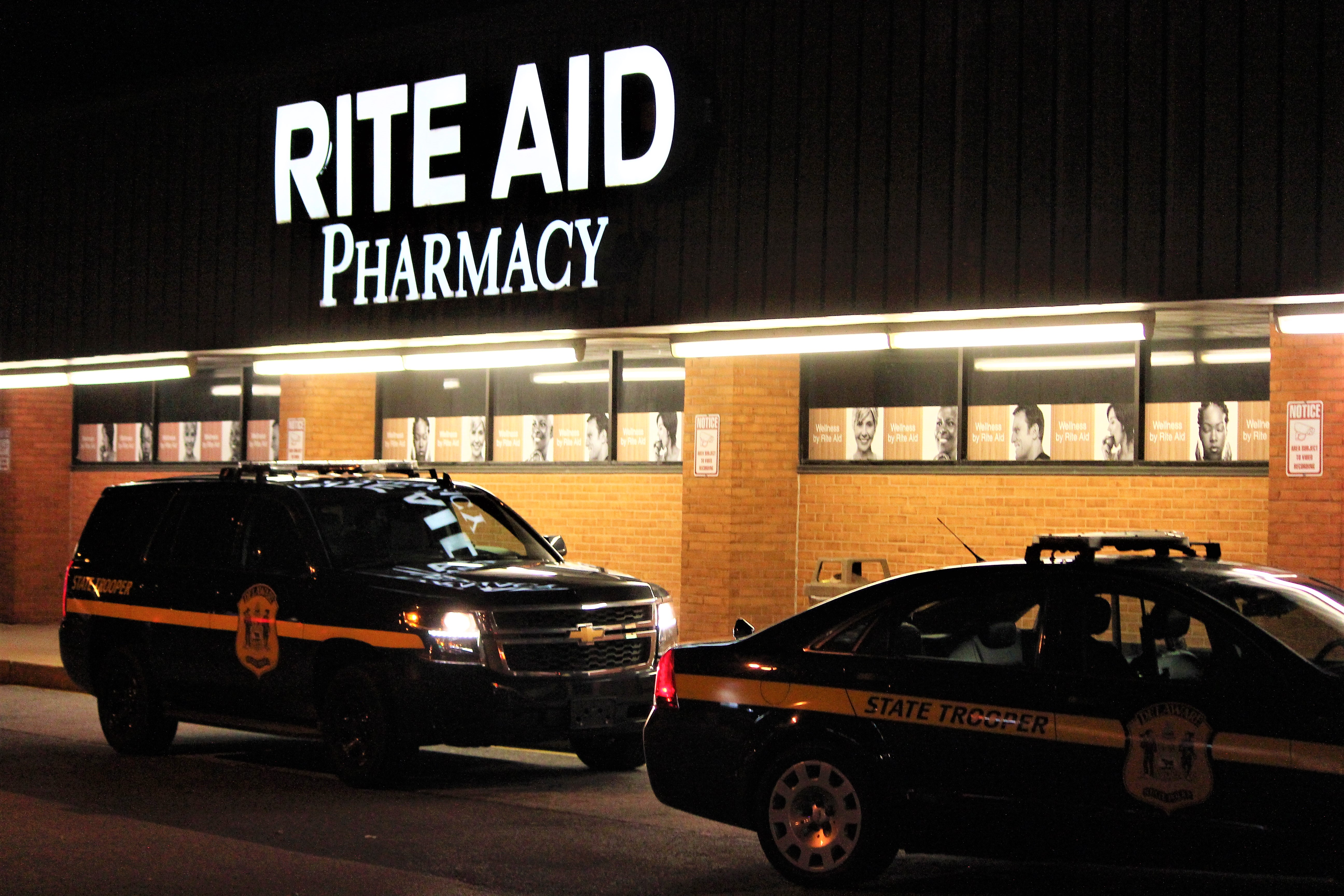 Troopers: Man Robs Newark-Area Rite Aid – First State Update