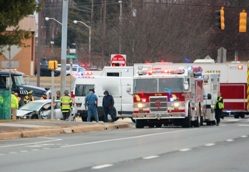 Possible Head On Collision In Newark Area Injuries