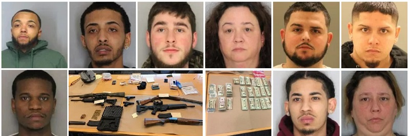 Joint Investigation Leads To Multiple Arrests In New Castle
