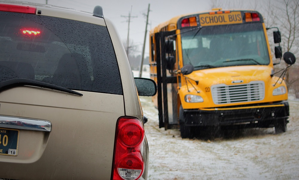 School bus drivers in communities east of Toronto walk off job