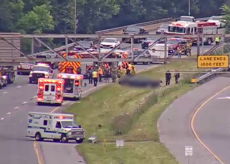Happening Now: Vehicle Accident On I-95 At The PA Line, One Ejected