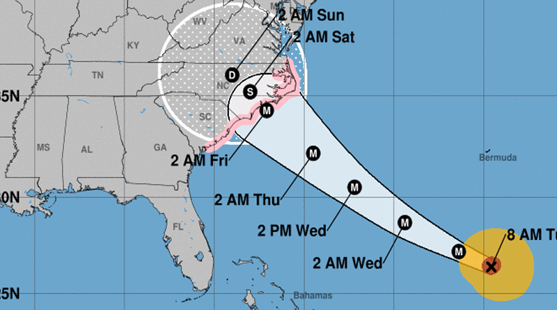 Latest Florence Update From The National Weather Service First State Update