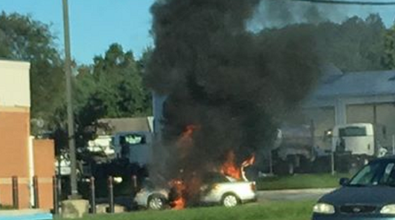 Car Catches Fire At Royal Farms In Elkton First State Update