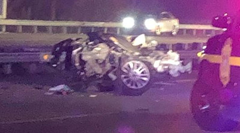 Happening Now: Double Fatal Rollover Crash Shuts Down Route 1