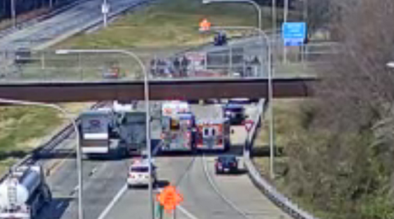 Video – I-495 NB Shut Down Due To Fatal Accident Involving