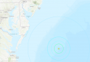 Magnitude 4.7 Earthquake Reported Near Delaware Coast Line
