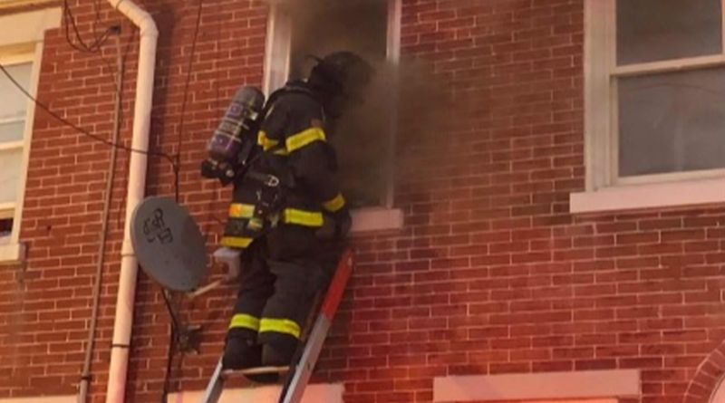 Four Displaced In Wilmington Row Home Fire