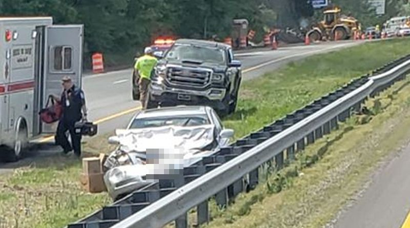 Happening Now: Route 40 Shut Down In Elkton Due To Crash, Two