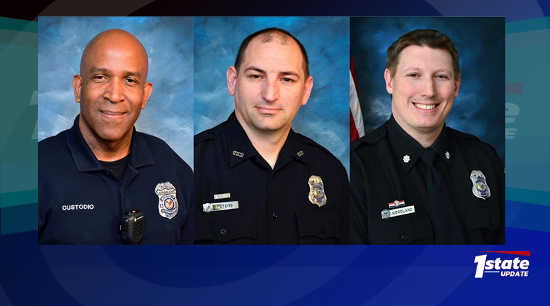 Three Delaware Veterans Named National Police Officers Of