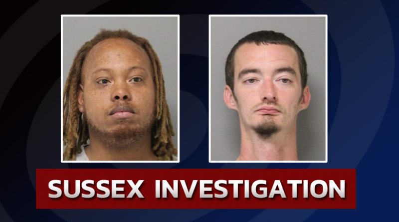 Troopers Arrest Two For Burglary And Theft-Sussex County