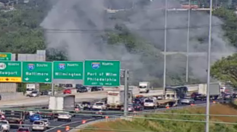 Happening Now: Crews Responding To Vehicle Fire On I-295 SB – First