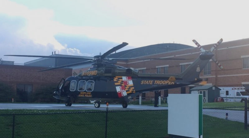 MSP Troopers Update Conowingo Motorcycle Crash, Four Helos