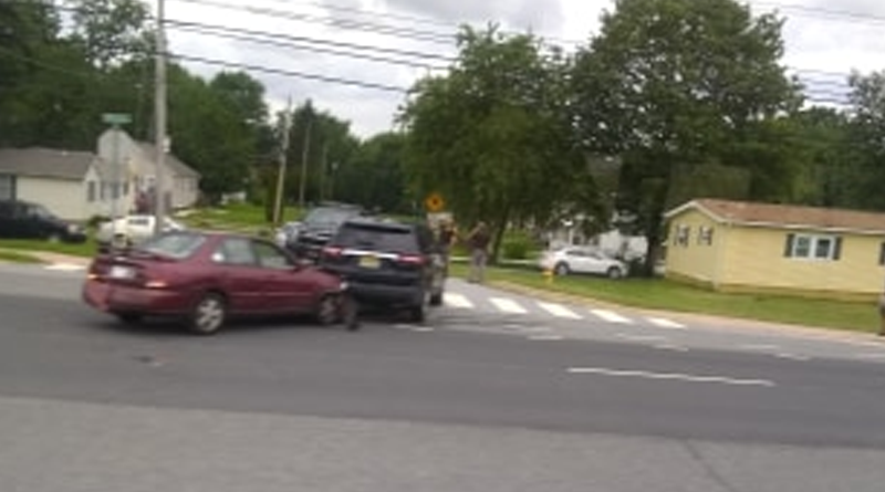 Just In: Police Chase Ends With Crash, Neighborhood Lockdown In New