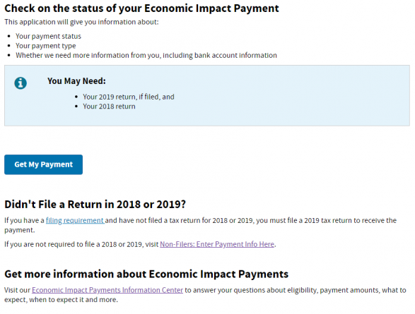 IRS Launches New Tool, See Where Your Stimulus Check Is – First State Update