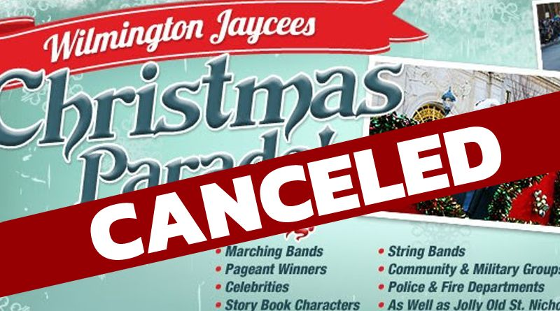57th Annual Wilmington Jaycees Christmas Parade is Canceled