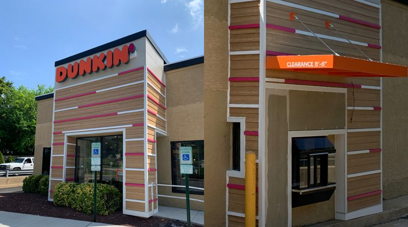 Old Newport Taco Bell/KFC Opens As Dunkin Tomorrow, Free ...